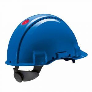 ayarlı mavi baret