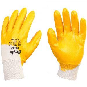 sarı nitril eldiven